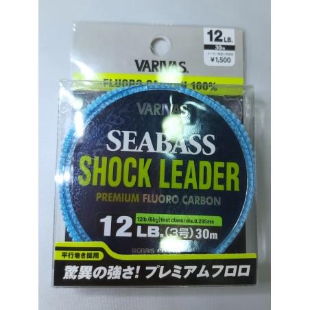 0762 Varivas Fluorocarbon Shock Leader Line Sea Bass 30m 12lb
